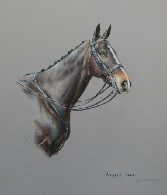 sporting art and animal portraits by Mark Hankinson